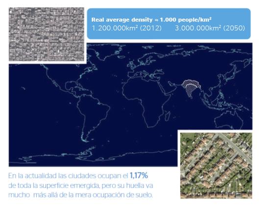 Ocupación urbana - OpenMind-Fuente: Google Maps y Juan Murillo