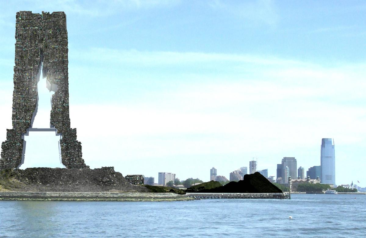Islas de basura en Nueva York