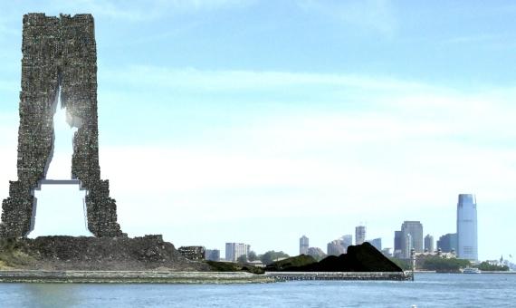islas de basura en Nueva York-entrevista-melanie-fessel