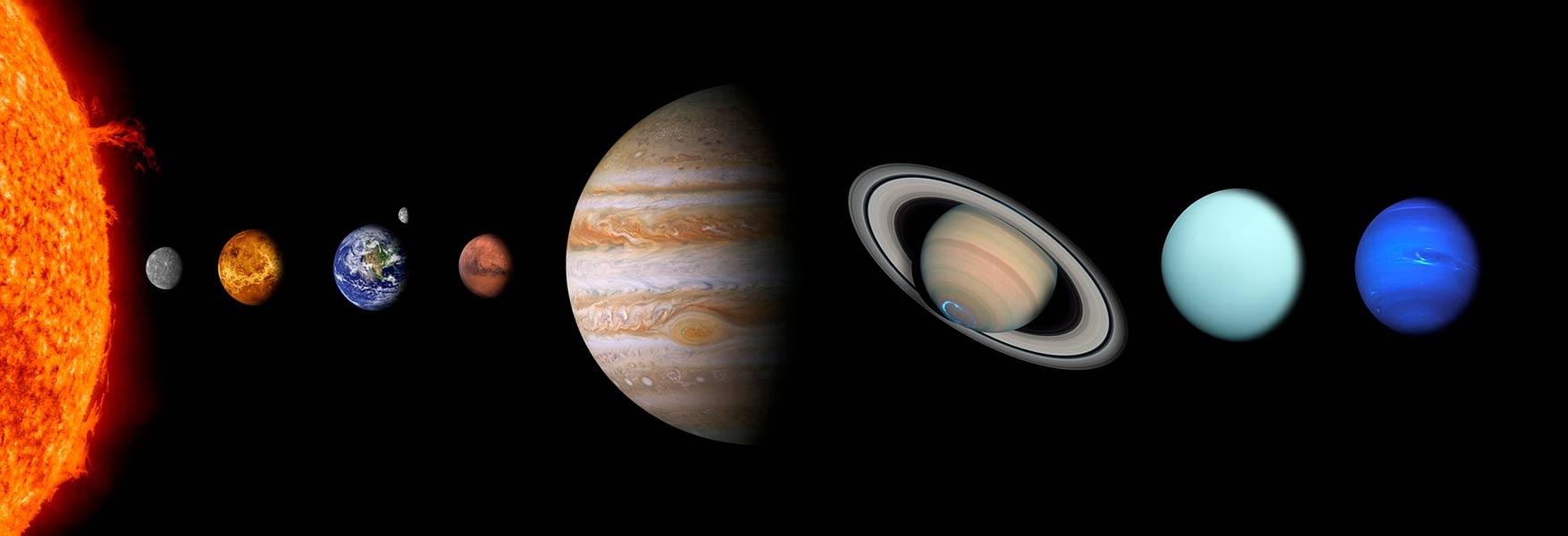 Los Planetas Del Sistema Solar Y La Definición De La Unión