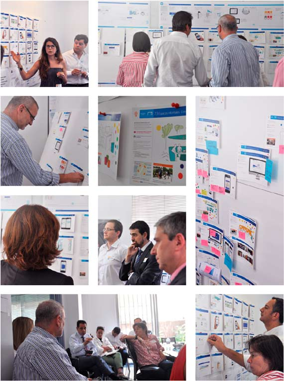 BBVA-OpenMind-Reinventing the Company-New workplaces for BBVA-Workshops on change
