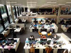 BBVA-OpenMind-Reinventar-la-empresa-Nuevas-sedes-La Vela: new spaces for work