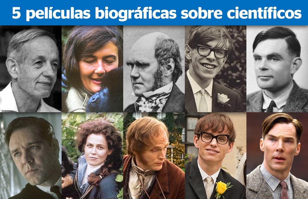 5 Películas biográficas sobre científicos