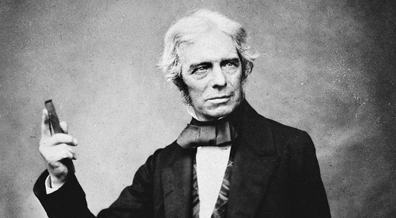 Michael Faraday (1791-1867) / Credits: Wikipedia