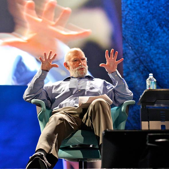 For science - Oliver Sacks in TED 2009.
