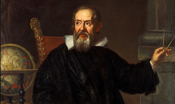 Galileo Galilei by an unknown Italian painter.