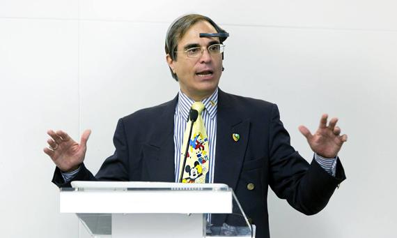 José Luis Cordeiro, Scientist, Futurologist, Professor and Advisor in Energy at the Singularity University. Source: Facebook.com