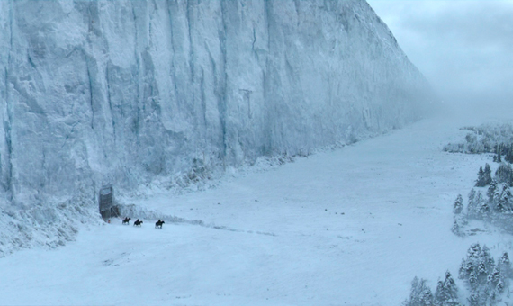 The north side of the Wall /Source: Wikia