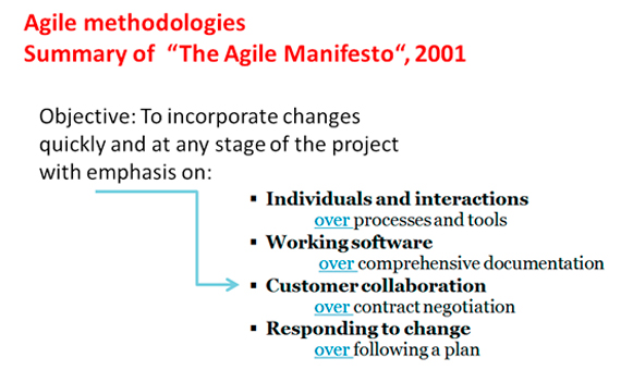 Source of the data: Agile Manifesto / Image: author