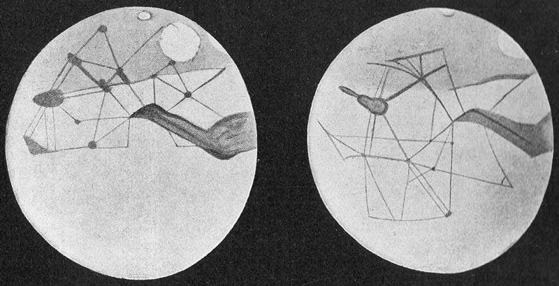 2_Agua-Marte-Los canales de Marte que imagin贸 y dibuj贸 Percival Lowell. Cr茅dito: <strong>Wikimedia Commons</strong>