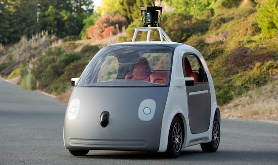 El coche autónomo de Google. Crédito: Smoothgroover/Flickr