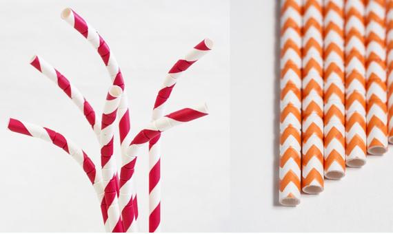 La vuelta al papel es la última innovación en las pajitas de beber. Crédito: Aardvark Straws