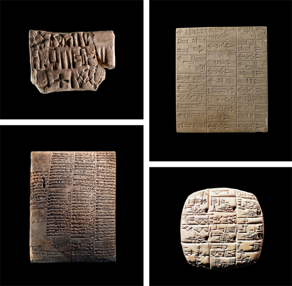 BBVA, OpenMind. The First Age: The Creation of Shared Beliefs. Skinner. Sumerian tablets for accounting, with cuneiform writing (c. 3,000–2,000 BC).