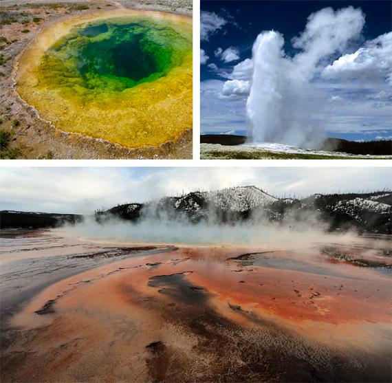 BBVA, OpenMind. Imponderables tecnológicos: riesgo existencial y una humanidad en transformación. HÉIGEARTAIGH. En el Parque Nacional de Yellowstone (Wyoming, EEUU) se encuentra uno de los puntos calientes del planeta en los que se podría producir una explosión volcánica masiva