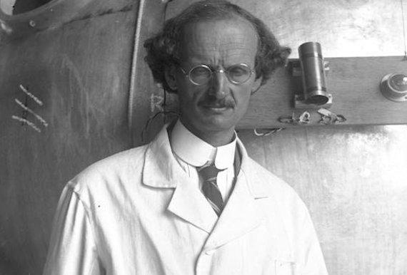 El físico e inventor suizo Auguste Piccard. Crédito: Wikimedia Commons