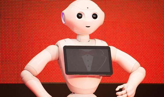 Pepper en la ceremonia de apertura del Festival Internacional de Cine de Tokio. Crédito: Dick Thomas Johnson