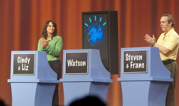 El ordenador Watson en el programa televisivo Jeopardy. Crédito: Paul Hudson/Flickr