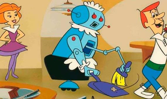 Robotina, la mayordoma robótica de Los Supersónicos. Crédito: Los Supersónicos