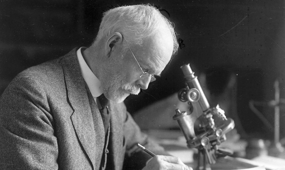 E. Wilson, the man who discovered parasitic chromosomes 110 years ago / Image: The Embryo Project Encyclopedia-Arizona State University