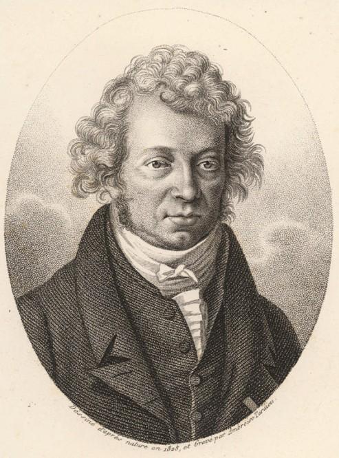 André-Marie Ampère. Créditos: Wikipedia