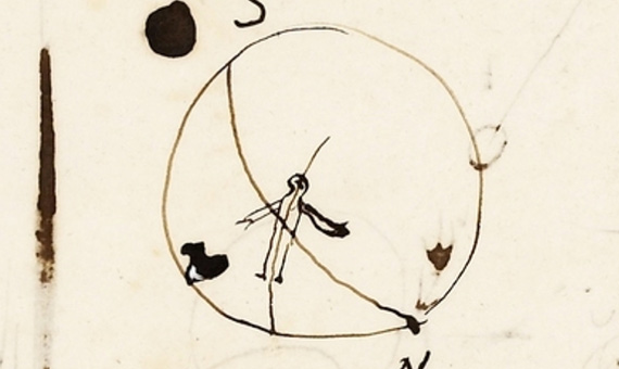 "Ampère's ""little guy"". Credits: Ampère Collection. Archives of the Academy of Sciences, Paris."