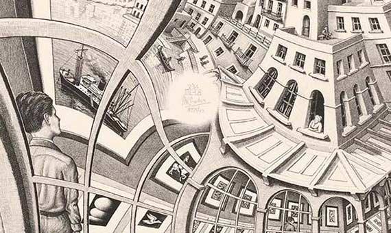 Galería de Grabados de M.C. Escher. Crédito: The Escher Foundation Collection