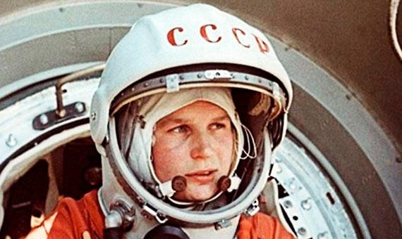 Valentina Tereshkova before her mission. Credit: Roscosmos