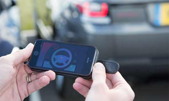 El Range Rover Sport permite ser controlado a distancia con una aplicación para el smartphone. Crédito: Jaguar Land Rover
