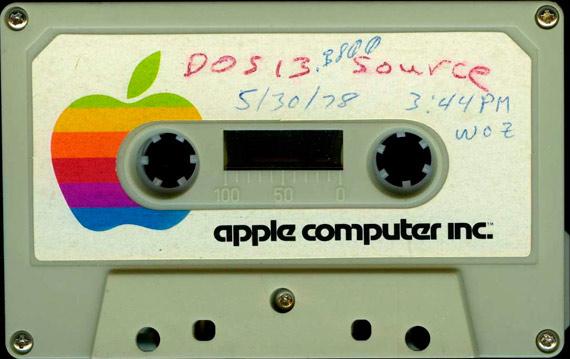 Casete del Apple II. Crédito: Wikimedia Commons