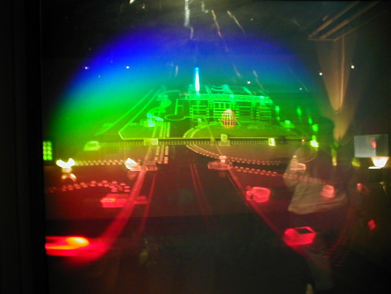 Holograma en el Museo del MIT. Crédito: Andrew Kuchling