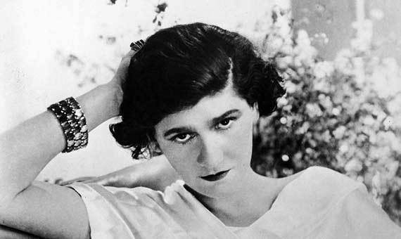 Haute Couture designer Coco Chanel makes suntanned skin fashionable in the 1920s. Credit: Time/Getty