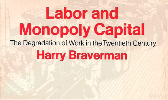 Cover of the most important work by Harry Braverman/ Image: author