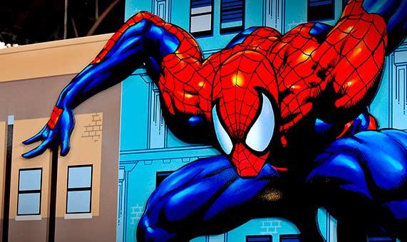 El personaje de Spiderman tiene unas habilidades que tratan de imitar los científicos en sus laboratorios. Crédito: David Tubau.