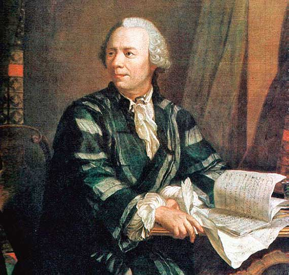 Leonhard Euler portrayed by Jakob Emanuel Handmann circa 1756. Source: Deutsches Museum, Munich