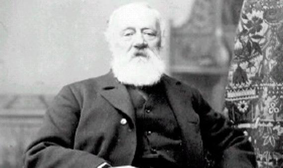 Antonio Meucci luchó hasta el final de sus días por ser reconocido como inventor del teléfono. Crédito: Radio Marconi