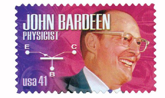 #4227 – 2008 41c American Scientist John Bardeen / Mystic Stamp Company