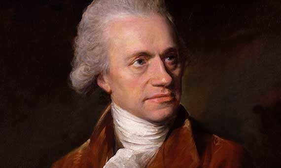 William Herschel fue un pionero de la astronomía estelar. Fuente: National Portrait Gallery