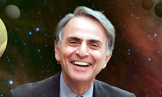 A Carl Sagan le fascinó siempre el misterio de la vida en el Universo. Crédito: NASA/Cosmos Studies