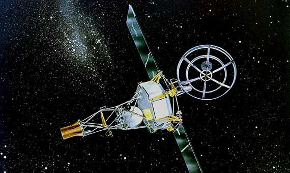 La sonda Mariner 2 llegó a Venus en 1962 y confirmó las predicciones de Sagan de que era un planeta seco con un calor abrasador. Crédito: NASA Jet Propulsion Laboratory (NASA-JPL)