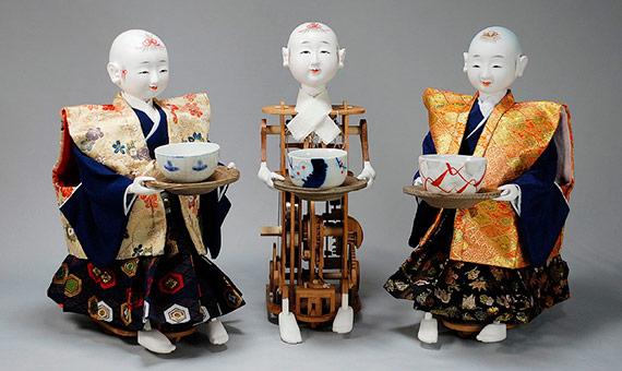 A los 20 años, Tanaka comenzó a construir sus primeras muñecas karakuri, que causaban furor entre la nobleza nipona. Crédito: Toshiba Science Museum