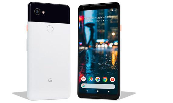Pixel 2 y Pixel 2 XL son los primeros smartphones diseñados y desarrollados por Google. Crédito: Google