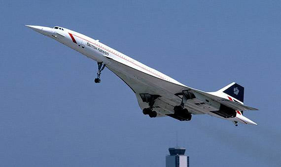 Los aviones comerciales Concorde volaron 27 años