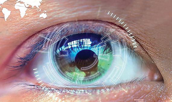 """Sin necesidad de cirugía, algunos dispositivos aprovechan la inteligencia artificial para que las personas sin visión """"vean"""" lo que hay a su alrededor. Crédito: U.S. Army photo illustration"""