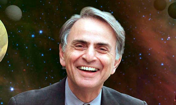 Image result for Carl Edward Sagan