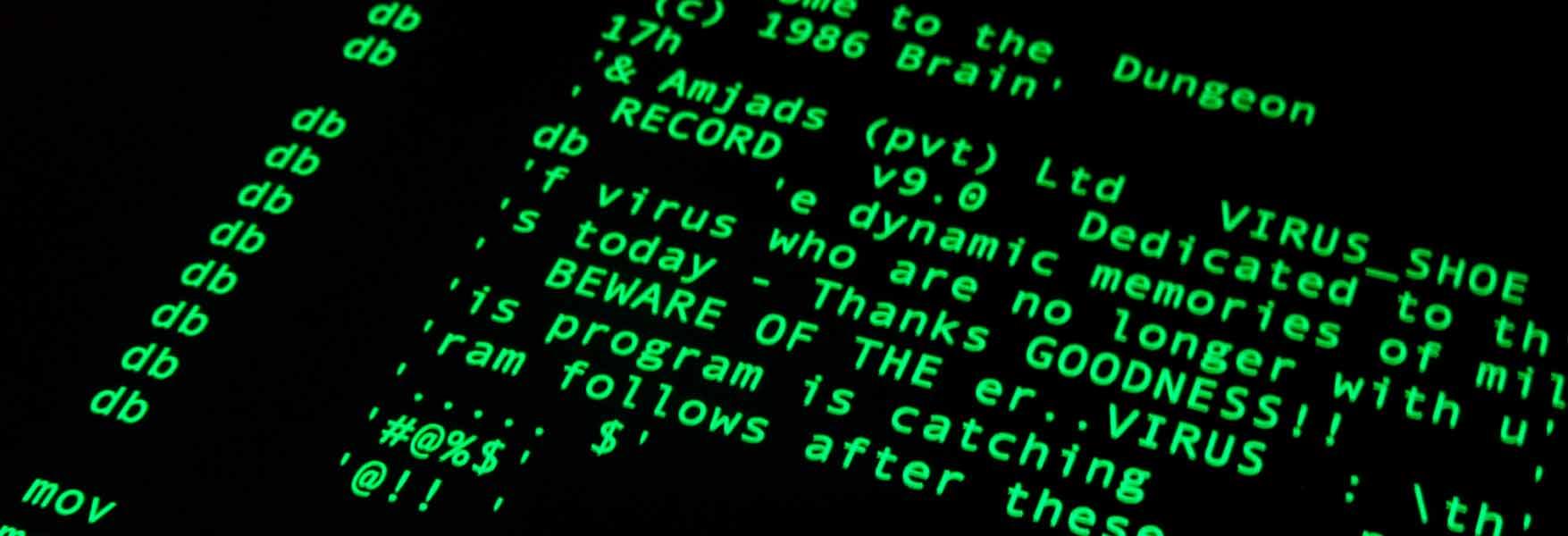 que es un virus informatico resumen