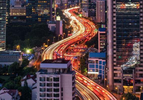 BBVA-OpenMind-Libro 2018-Perplejidad-Storey-China-Las ciudades chinas reflejan la rápida modernización que la nación experimenta.