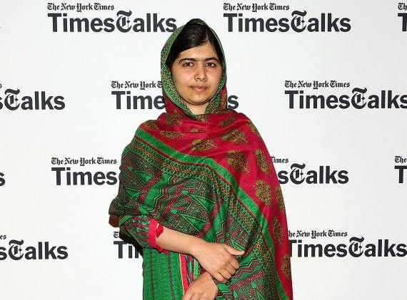 BBVA-OpenMind-Libro 2018-Perplejidad-zalewski-Malala-yousafzai-The Young activist Malala Yousafzai attends TimesTalks Presents: I Am Malala at The French Institute on August 19, 2014 in New York City.