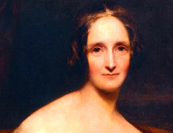 Retrato de Mary Shelley / Fuente: RothwellMaryShelley.jpg