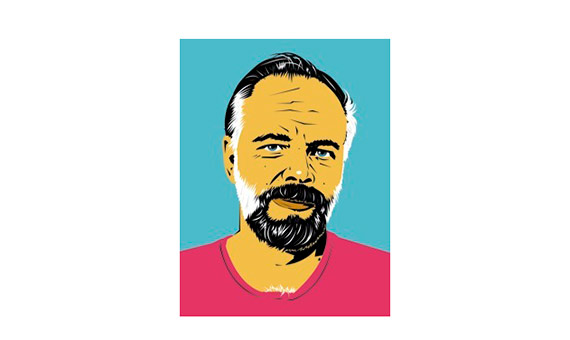 Simplicity ensures the basic principles of machine learning: fairness, accountability and transparency. Drawn portrait of Philip K Dick /Image: Pete Welsch