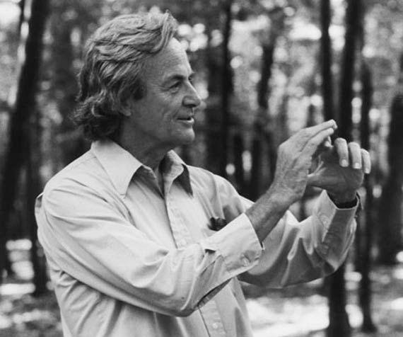 Richard Feynman, en 1984. Crédito: Tamiko Thiel